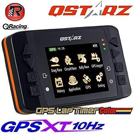 Qstarz LT-Q6000 MX - Dispositivo GPS con pantalla LCD a color y software de registro y análisis de datos para bicicletas y motocicletas, 10 Hz