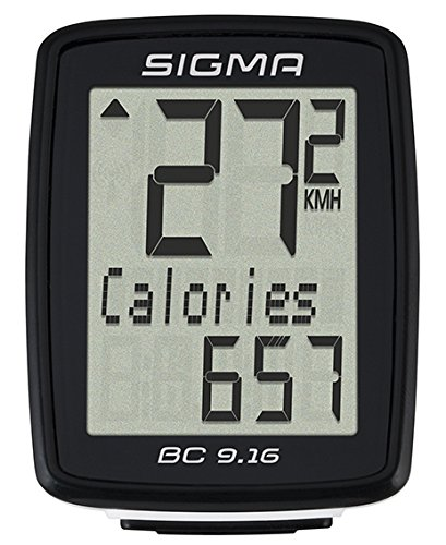 Sigma Sport BC 9.16 Wired Bicycle Computer by Sigma Sport