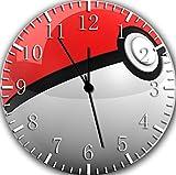 "Best IkEA clock - Pokemon Ball Wall Clock 10"" Will Be Nice Review"