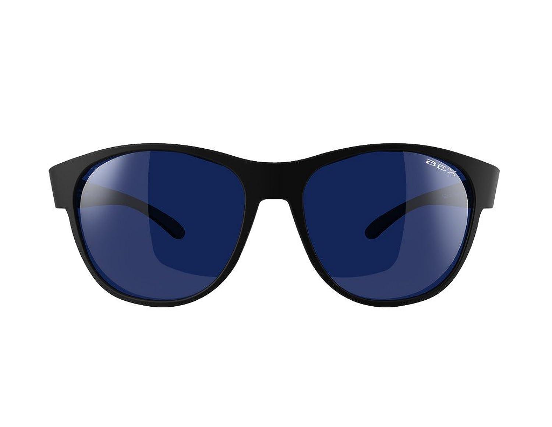 Bex Sunglasses Womens BEX Ryann and Blue Sunglasses Black