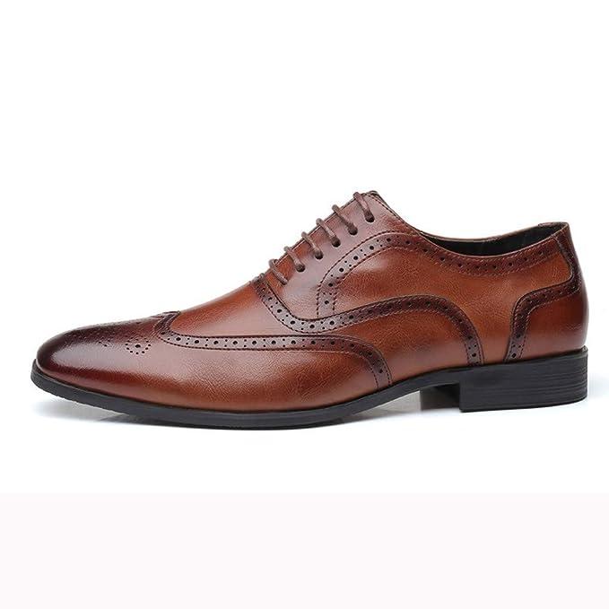 Kaister Herren arbeiten britische lederne Schuhe im Freien