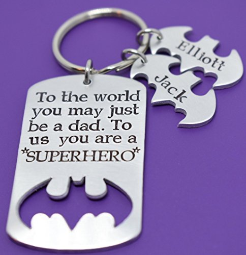 Dad Keychain with meaningful messages