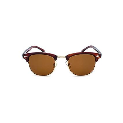 BiuTeFang Gafas de Sol Mujer Hombre Polarizadas Tendencias Clásicas polarizado Gafas de Sol Señora Hombre Gafas