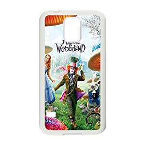 Alice In Wonderland Case Cover For samsung galaxy S5 Case