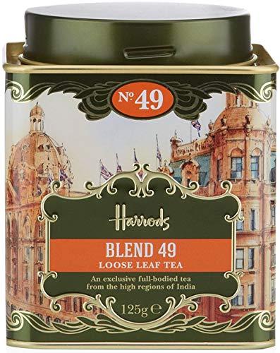 125g Tea Loose - Harrods London. No. 49 - Blend 49-125g Loose Tea 4.4oz GIFT TIN CADDY - USA Stock
