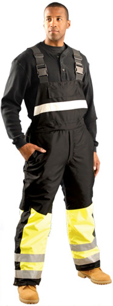 Speed Collection Premium Cold Weather Bib Overalls - Class E - LARGE Occunomix fl15-sp-bib-LARGE