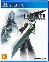 Final Fantasy VII Remake - Edição Padrão - PlayStation 4 - 12% de desconto para Membros Prime