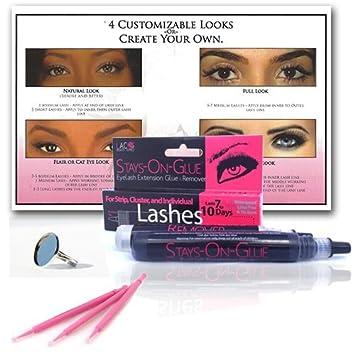 2a3c1efaef3 Lashes & Cosmetics Eyelash Extension Glue | Stays-on-glue- Hypoallergenic |  .