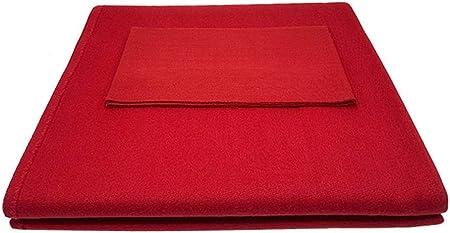 AMZH Mantel de Billar Fieltro Durable Lana + Nylon Espesar Paño de Billar Adecuado para mesas