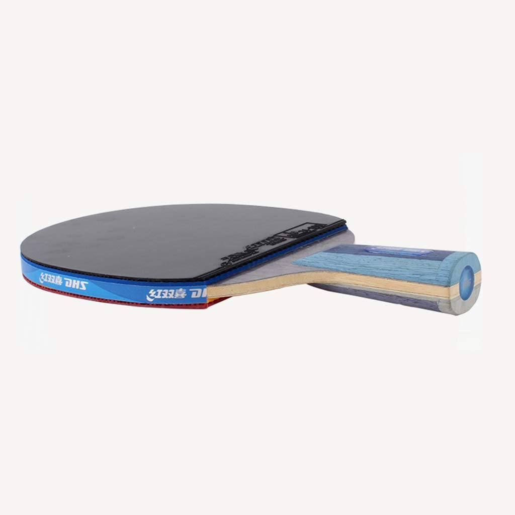 JWD HOME Raqueta De Tenis De Mesa - Paleta De Ping Pong Profesional De Esponja Azul
