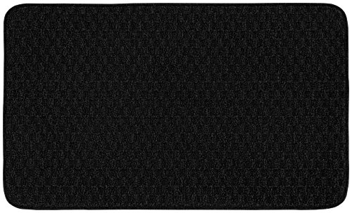 Garland Rug TS000W02404015 Town Square Area Rug, 24 40-Inch, Black