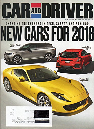 Honda Civic 2.0 Type - Car and Driver 2017 Magazine NEW CARS FOR 2018: CHARTING THE CHANGES IN TECH, SAFETY, AND STYLING Chevrolet Camaro ZL1 1LE EQUINOX LT 2.0T AWD Audi A5 Sportback ASTON MARTIN DB11 Alfa Romeo Stelvio