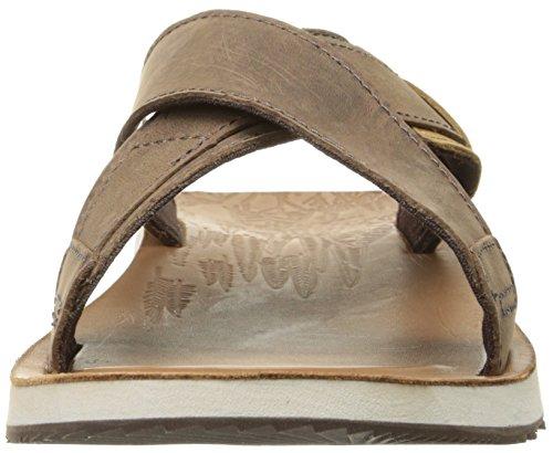 Merrell Herren Duskair Slide Leder Sandale Scotch