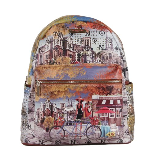 Backpack Nicole (Nicole Lee Quinn 20 Inch Backpack, Bicycle, One Size)
