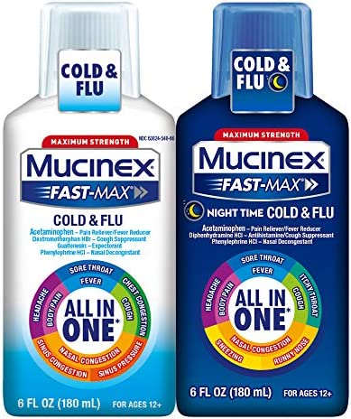 Mucinex Fast Max Double Severe Night product image