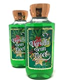 Facial Massage Jackie - Bath & Body Works 2016 Signature Collection Vanilla Bean Noel Shower Gel, 10 Ounce (Pack of 2)