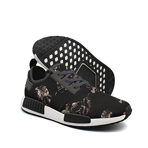 Twig Deck (Men's Casual Fashion Sneaker Skull Skateboarding Breathable Lightweight Running Shoes)