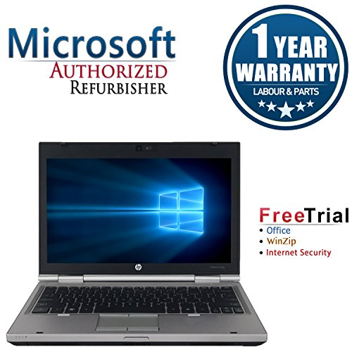 - HP EliteBook 2560p Laptop 12in (Intel Core i5 2520M 2.5G,4G RAM DDR3,120G SSD,DVD-ROM,Windows 10 Professional)(Renewed)