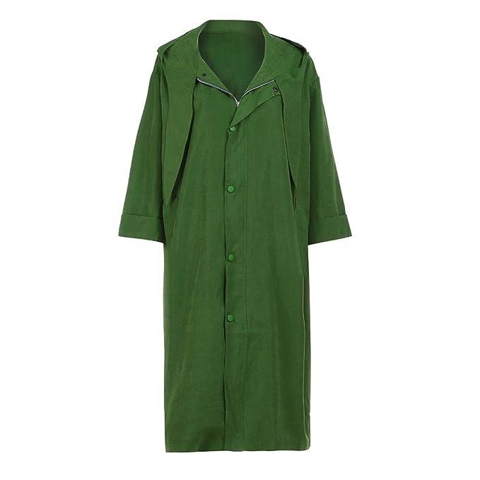 Kukul Ropa de abrigo Mujer 2017 Otoño Abrigo con capucha - Long Coat Outwear (L