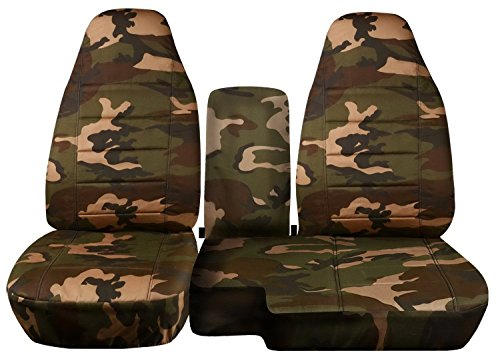 ford ranger seat cover camo - 6