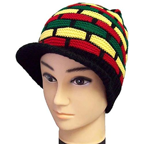 ggae Rasta Bob Marley Beanies Winter Caps Hats (Wca1210A) ()