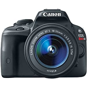 Canon EOS Rebel SL1 Digital SLR with 18-55mm STM Lens(Certified Refurbished)