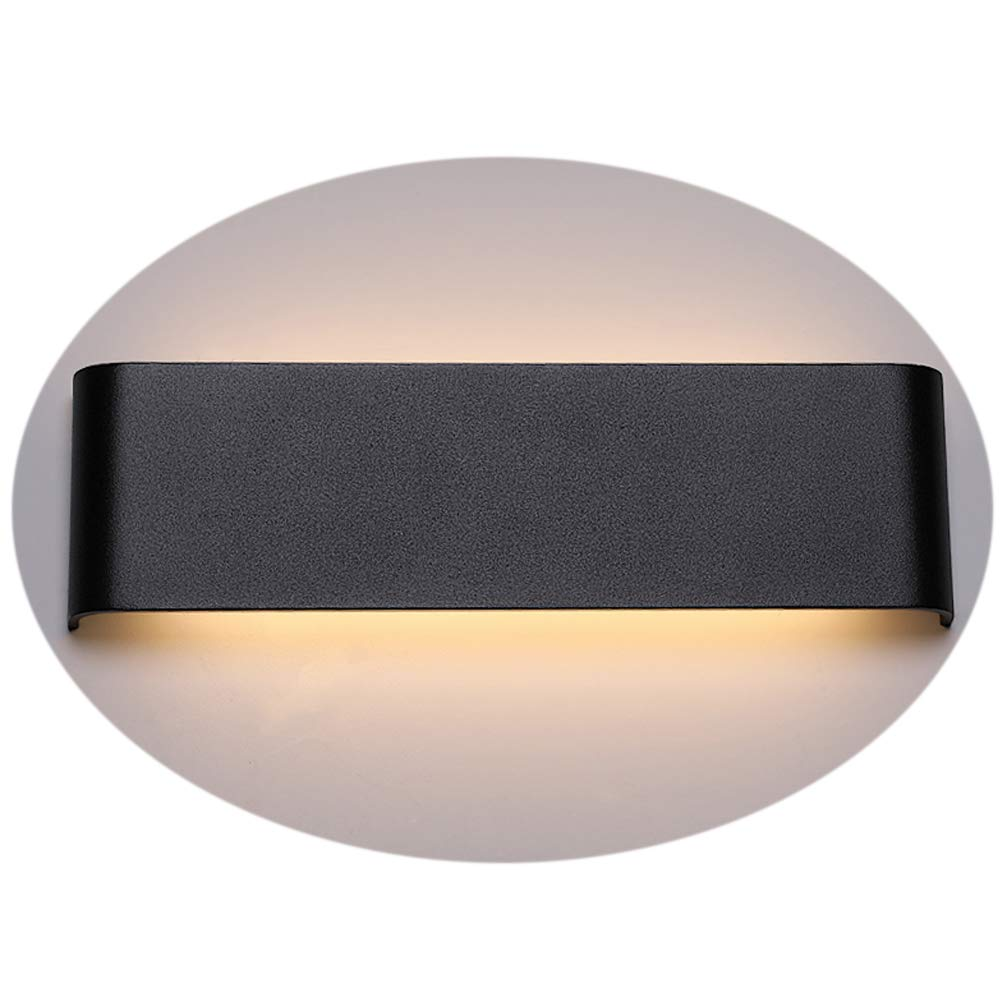 24W Warm White LED Wall Light Up and Down Indoor Lamp Wall Sconce Lights Modern Wall Lights Wall Lamp Indoor for living room/bedroom/bathroom/corridor/balcony/stairs etc/hall/porch/store/studio/shop/cafe/bar [Energy Class A++] YuQin Technology