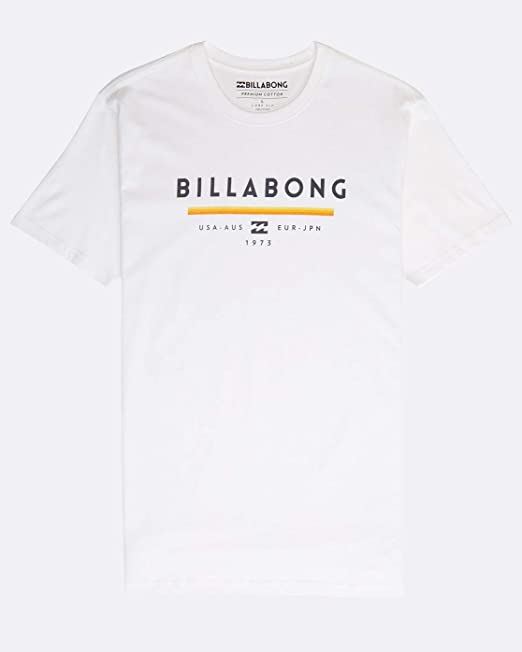 BILLABONG Unity T Camiseta de Manga Corta con Estampado para ...