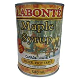 Labonté Pure Maple Syrup AMBER RICH TASTE 540 Milliliter