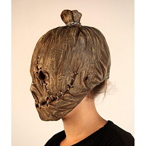 Máscara de espantapájaros zurcido para adulto: Amazon.es: Juguetes y juegos