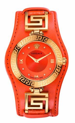 Versace VLA060014 V-SIGNATURE Women's Orange Watch