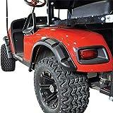 E Z Go GOLF CART PART TXT Golf Cart FENDER FLARES set of 4 1996-Up Gas/Electric