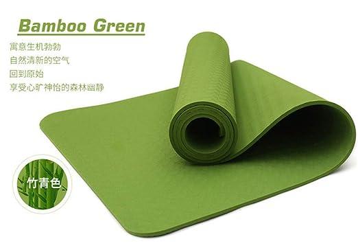 PDDXBB Esterilla de Yoga TPE 183 x 61 x 0,4/0,6/0,8 cm para ...