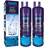 Aquasys Refrigerator Water Filter Compatible for Whirlpool W-10295370 W-10295370A Filter1 Kenmore 46-9930, 46-9081 (2 Pack)