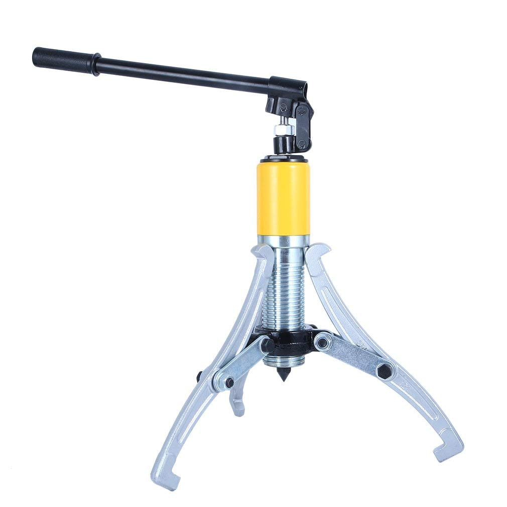 15 Ton Capacity Heavy Duty Hydraulic Gear Puller,3 Jaws Wheel Bearing Separator,3 in 1 Pump Oil Tube Drawing Machine by Youghalwell
