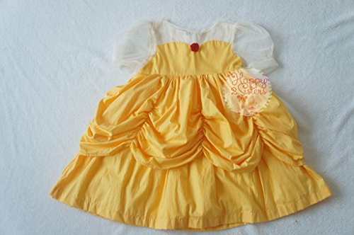 (Belle princess costumes Girls princess coustumes Beauty and the beast)