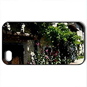 borde de roses tremirCase For Iphone 5C Cover (Houses Series, Watercolor style, Black) BY icecream design