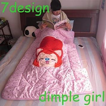 Amazon.com: Novia Kid dormir siesta Fox Anime cuerpo ...