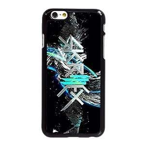 Skrillex W5L98M7WR funda iPhone 6 6S más la caja de 5,5 pufunda LGadas funda 70KT4V negro