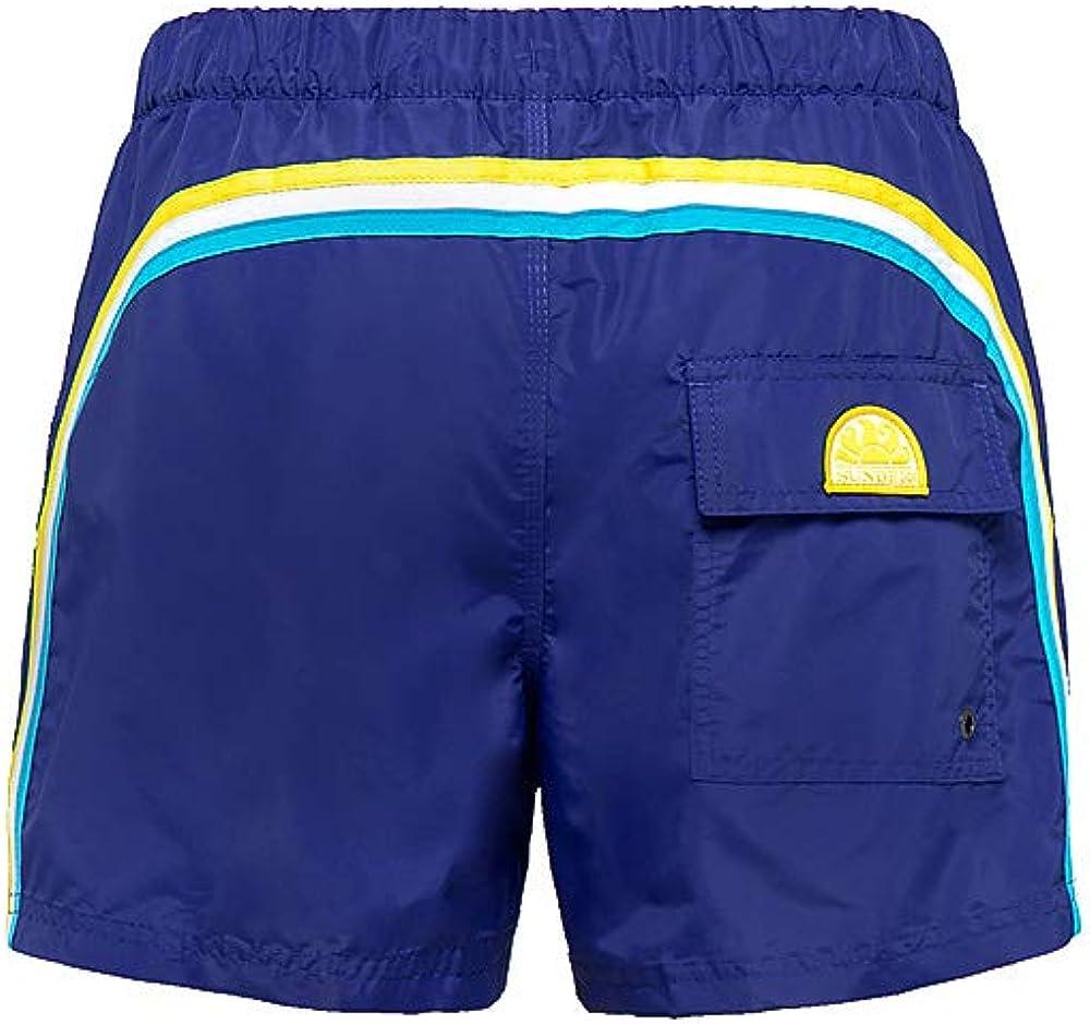 Sundek M520BDTA100 Costume Boxer Uomo Blu