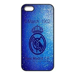 Generic Real Madrid James TPU Cell Phone Cover Case for iPhone 5, 5S AS1W8449364