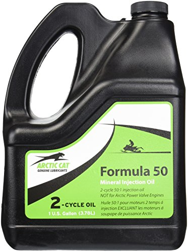 Arctic Cat Formula 50 2-Cycle Oil 1 Gallon (3.78L) ()