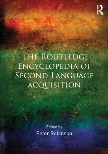 Download The Routledge Encyclopedia of Second Language Acquisition Pdf