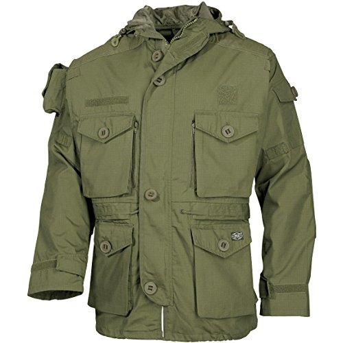 (MFH Men's Jacket Smock OD Green Size XXL)