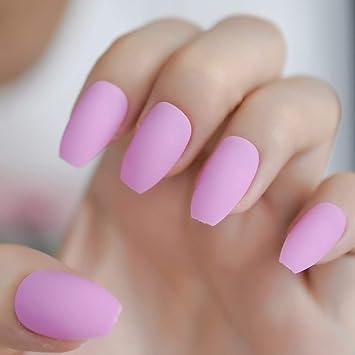 EchiQ - Uñas postizas para uñas postizas con parte superior ...