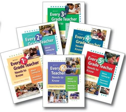 What Every Teacher Needs to Know K-5 Series (6-Volume Set)
