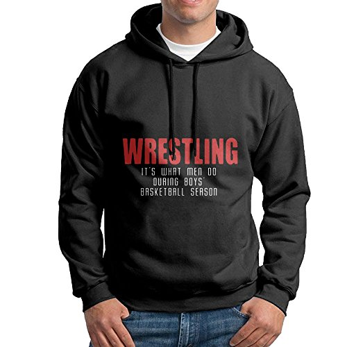 Wrestling What Men Do Adult Men's First Quality BTS Hoody by FHHHIOP