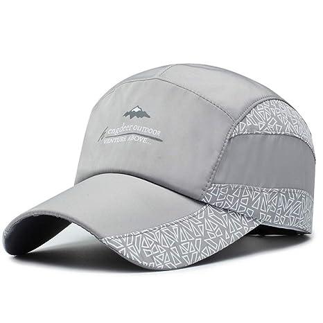 Lqhman Elegante, casual, transpirable, sombrero para el sol ...