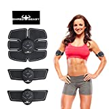 shred belt - ABS STIMULATOR & MUSCLE TONER- Fat burner equipment- Toning Belt- Wireless Portable muscle trainer with rhythm & soft impulse- 6 modes and 10 levels with simple operation- Ultimate slimming trainer-