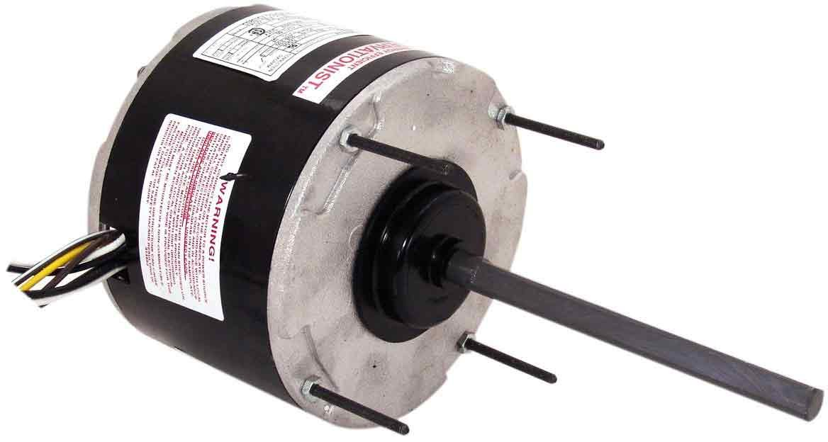 Century FS1028 Condenser, 5.6-Inch Frame Diameter, 1/4-HP, 825-RPM, 208-230-Volt, 1.5-Amp, Sleeve Bearing Motor by Century B0091BCBP6